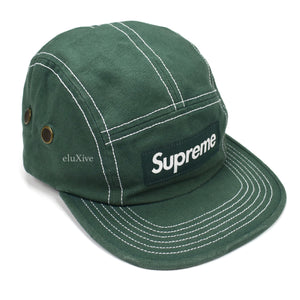 Supreme - Box Logo Canvas Field Hat (Green)