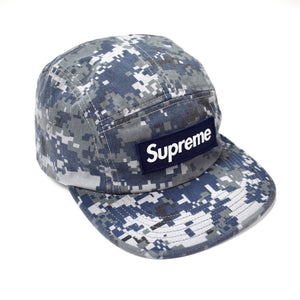 Supreme - Navy Camo Box Logo Hat