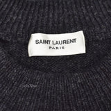 Saint Laurent - Intarsia Knit Skeleton Sweater