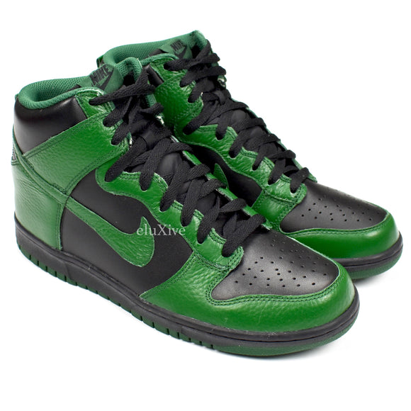 Nike - Dunk High 'College Black Pack' (Gorge Green)