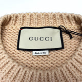 Gucci - 'Animal Magnetism' Lamb Knit Sweater (Beige)
