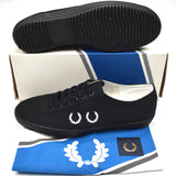 Comme des Garcons x Fred Perry - Wreath Logo Tennis Sneakers