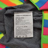 Comme Des Garcons - Rainbow Trim Collarless Sweater