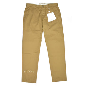 Maison Margiela - Dark Tan Cotton Twill Pants