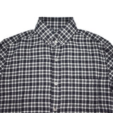 Tom Ford - Black & White Plaid Flannel Shirt