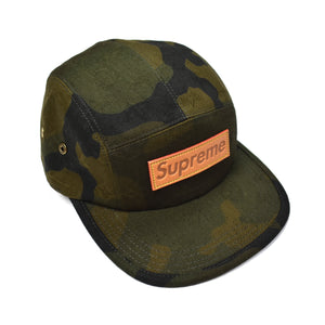 Louis Vuitton x Supreme - Monogram Camo Box Logo Hat