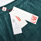 Supreme x Lacoste - Teal Velour Logo Track Pants