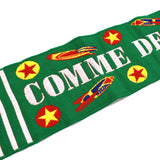 Comme Des Garcons - Green Logo Knit 'Sport' Scarf
