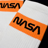 Heron Preston x NASA - White Logo Knit Socks