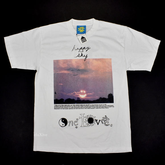 Online Ceramics - Happy Sky Photo Print T-Shirt