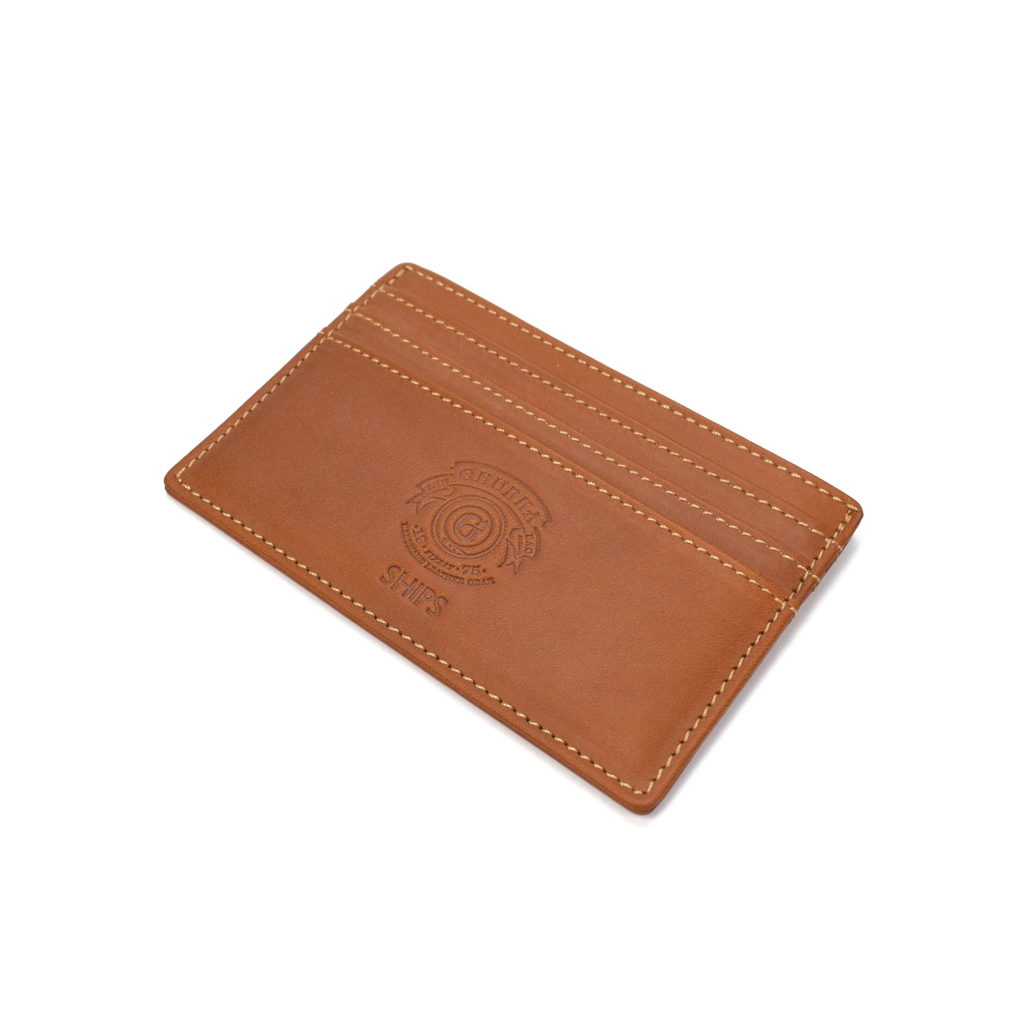 Ghurka - Chestnut Leather Card Holder