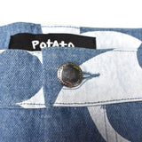 Imran Potato - LV Logo 'Fancy' Denim Jeans