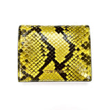 Tom Ford - Yellow Exotic Python Wallet