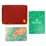 Rolex - Red Crown Logo Card Holder
