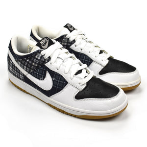 Nike - Dunk Low 'Black/White Plaid'