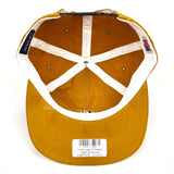 Noah - Core Logo Snapback Hat (Cumin Yellow)