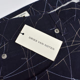 Dries Van Noten - Shatter Print Canvas Jeans