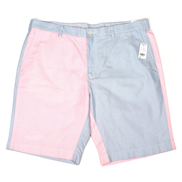 Brooks Brothers - Pink & Blue Colorblock Fun Shorts