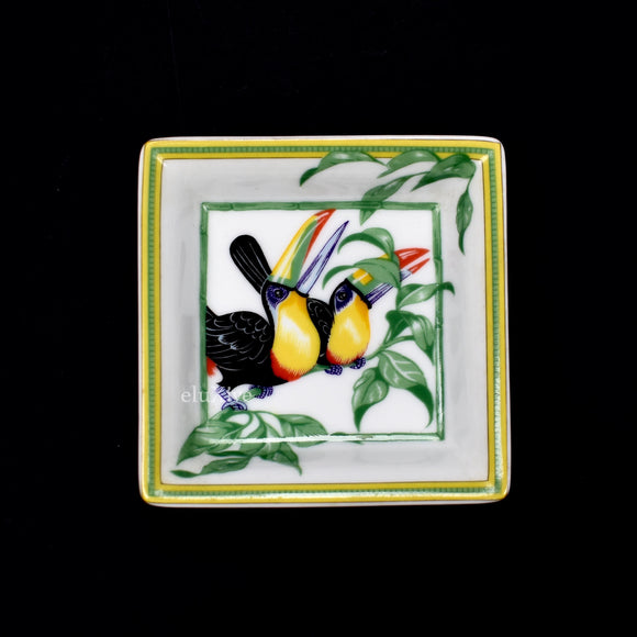 Hermes - Toucan Print Logo Ashtray