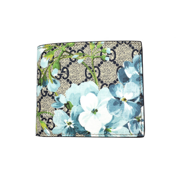 Gucci - Blooms Print Bifold Wallet