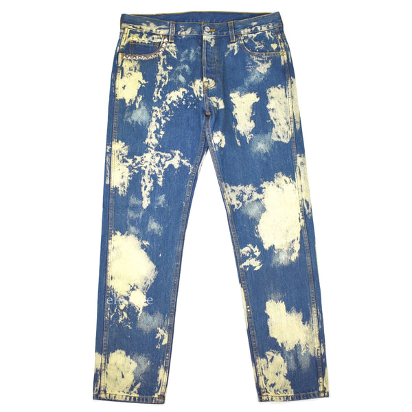 Gucci - Bleach Splatter Denim Jeans