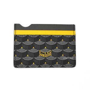 Faure Le Page - Steel Gray / Yellow 4CC Card Holder (2019)