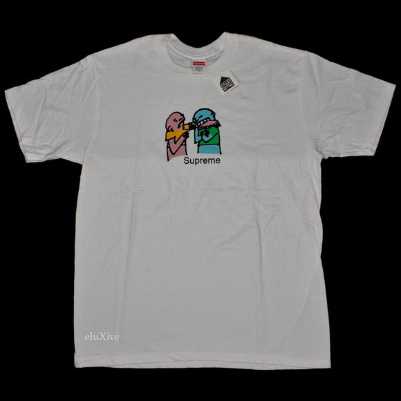 Supreme - Bite Logo T-Shirt (White)