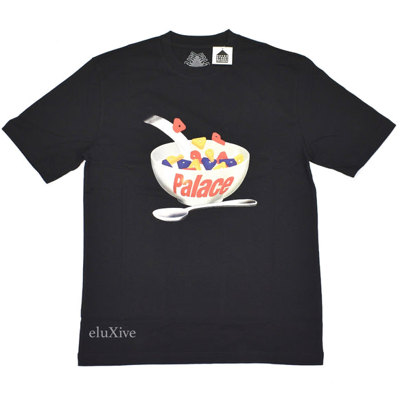 Palace - Charms Cereal Logo T-Shirt (Black)