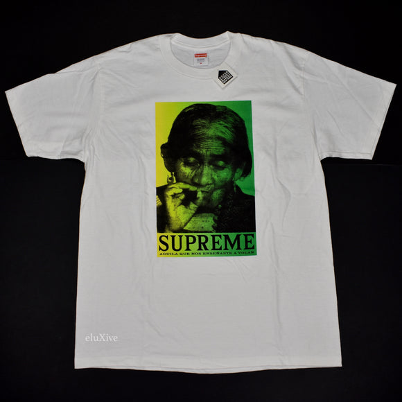 Supreme - Aguila Logo Photo T-Shirt (White)
