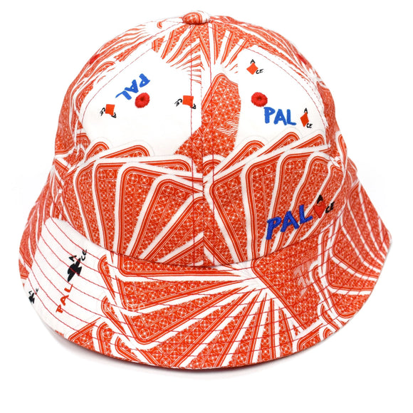 Palace x JCDC - Cards Bucket Hat (Red)