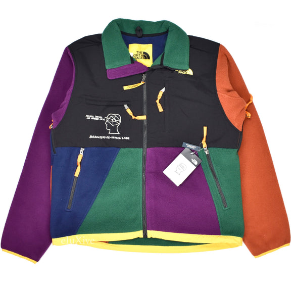 Brain Dead x The North Face - Color Block Fleece Denali Jacket