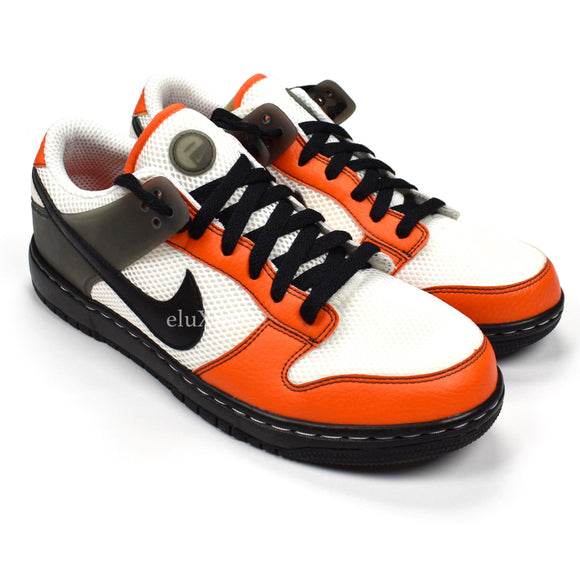 Nike - Air Zoom Dunkesto (White/Black/Orange)