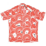 Palace x JCDC - Cards Rayon Club Shirt (Red)