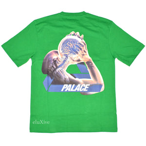Palace - Tri-Gaine Logo T-Shirt (Green)