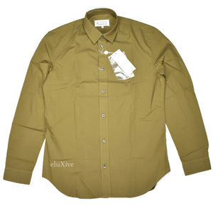 Maison Margiela - Olive Button Down Shirt