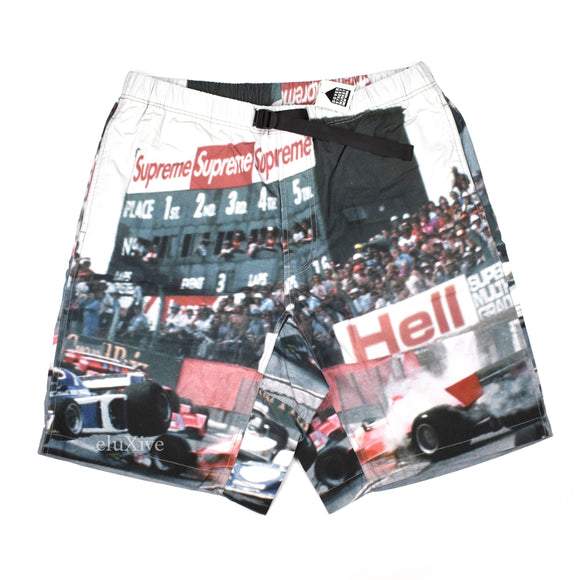 Supreme - Box Logo Grand Prix Shorts