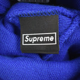 Supreme x New Era - Royal Blue 'S' Logo Beanie