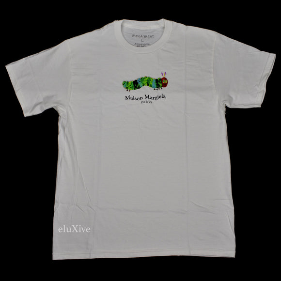 Mega Yacht - 'Margiela' Logo Hungry Caterpillar T-Shirt