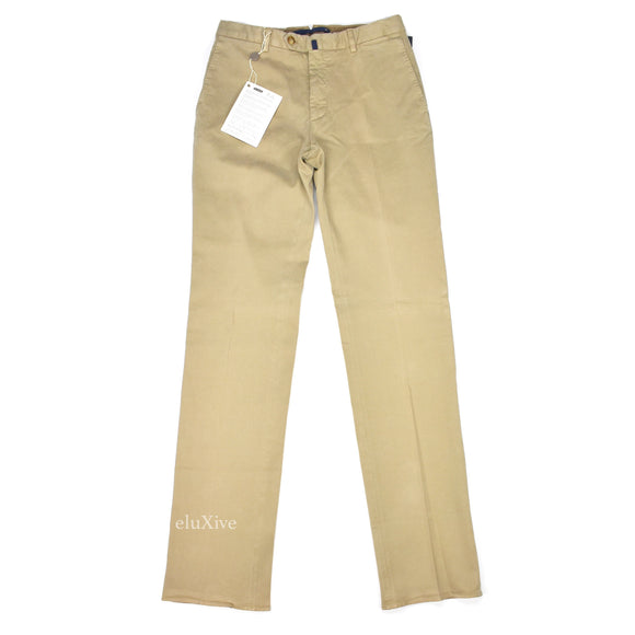 Incotex - Beige Cotton 'Comfortchino' Pants