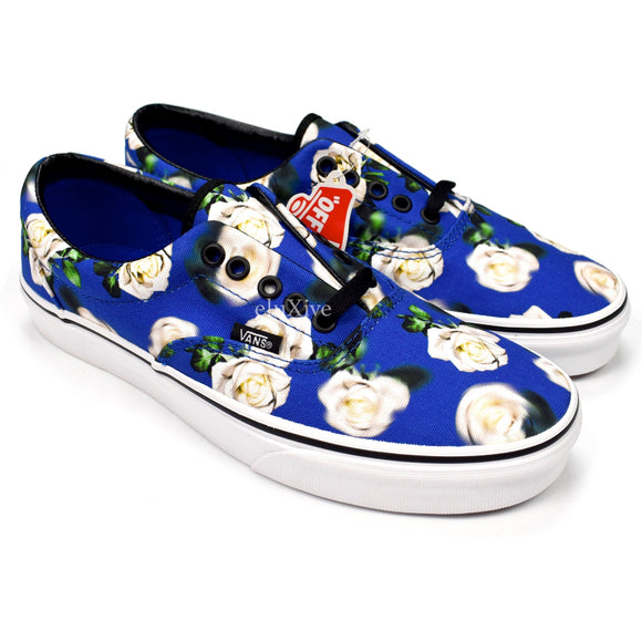 Vans - Blue Floral Era Sneakers