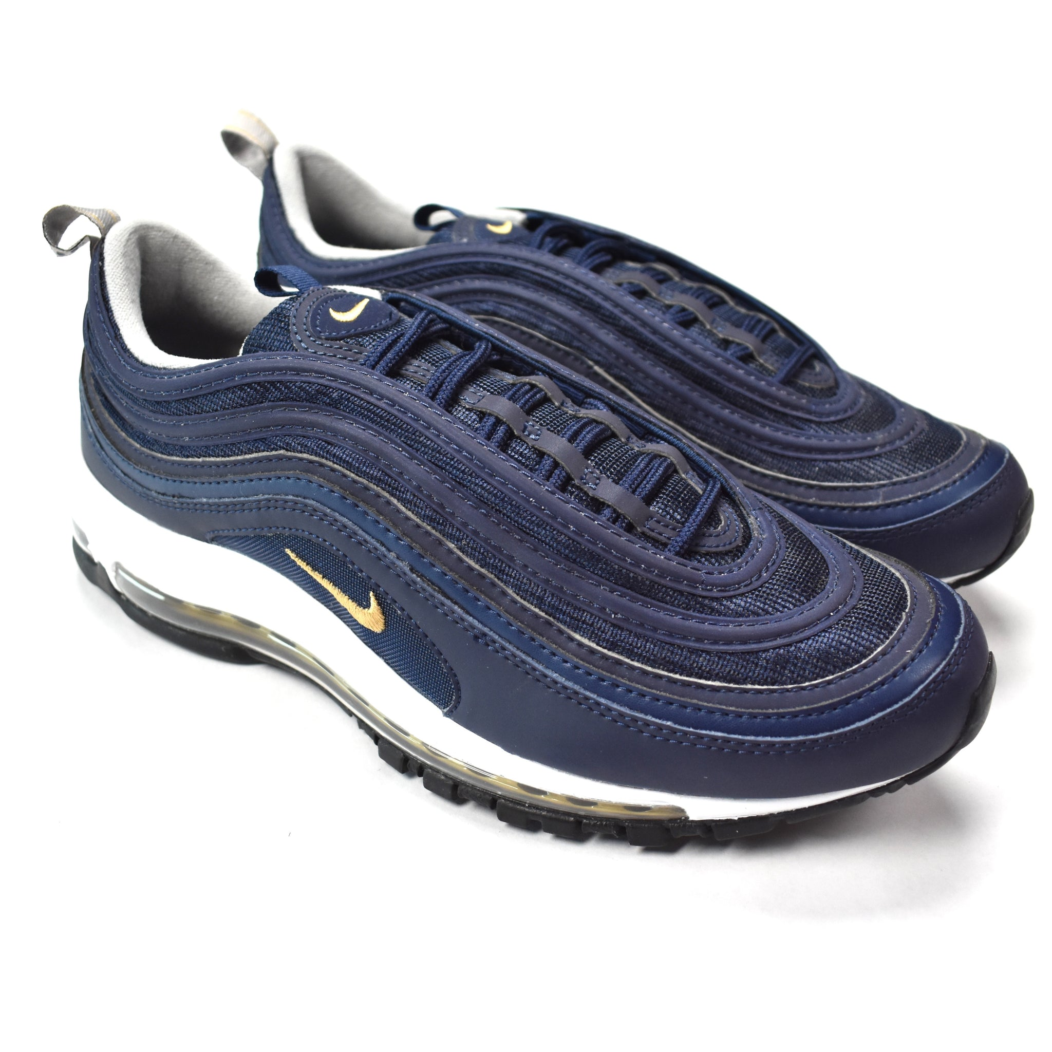 differently d3612 eb14f Nike - Air Max 97 Navy   Gold ...