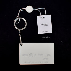 Maison Margiela - Metal 'Credit Card' Keychain