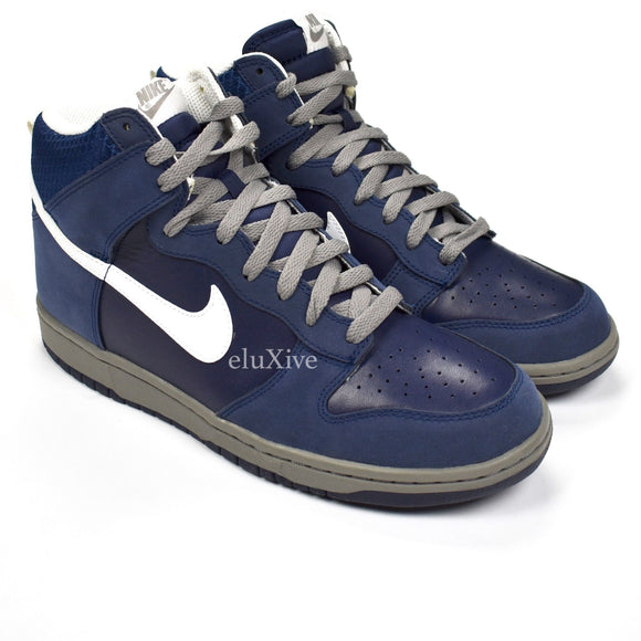 Nike - Dunk High 'Rice Owls' (Midnight Navy/White)
