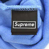 Supreme x New Era - Light Blue 'S' Logo Beanie