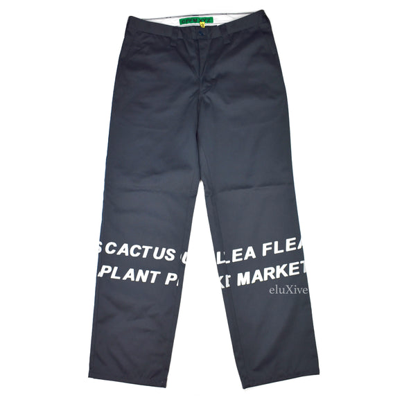 Cactus Plant Flea Market - Navy Hi-Vis Safety Pants