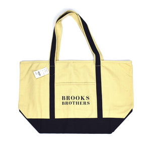 Brooks Brothers - Beige Canvas Tote Bag