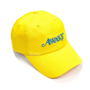Awake NY - Yellow Metallic Logo Hat