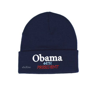 Supreme - Obama Logo Beanie (Navy)