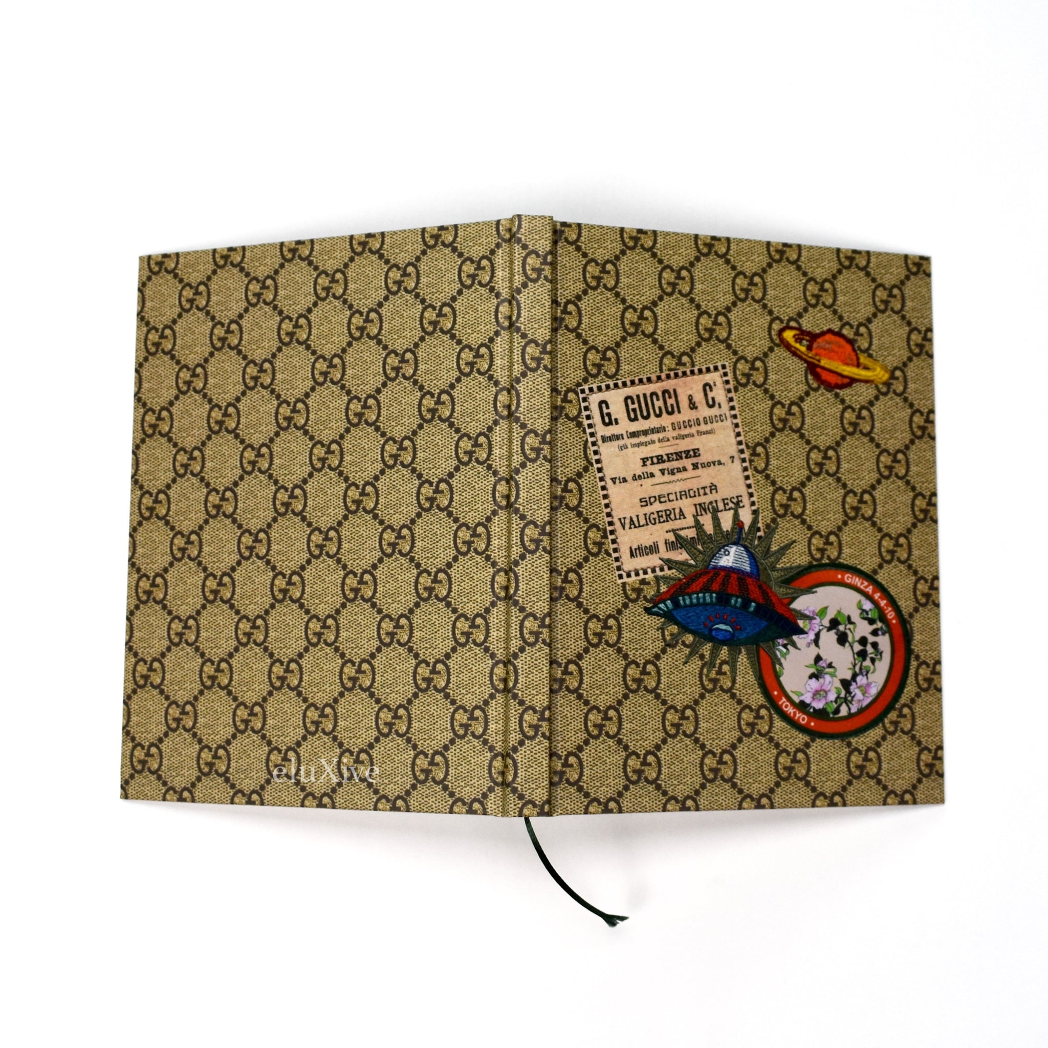 Gucci - Monogram Logo Notebook