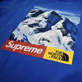 Supreme x The North Face - Blue Mountain Logo Sweatshirt